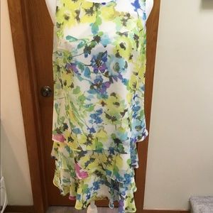 SALE!  Floral Tiered Dress
